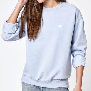 Brandy Melville Erica CA Bear Embroidery Sweater
